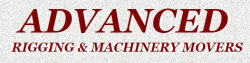 Advanced Rigging And Machinery Movers logo