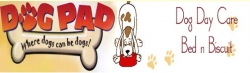Doggie Day Care & Bed 'n' Biscuit logo