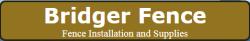 Bridger Fence logo
