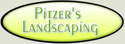 Pitzer's Landscaping logo