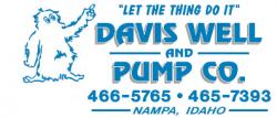 Davis Well and Pump Co. logo