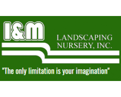 I and M Landscaping logo