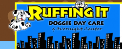 Ruffing It Doggie Day Care & Overnight Center logo