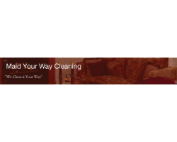 Maid Your Way Cleaning logo