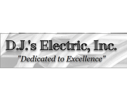 D.J.'s Electric, Inc. logo