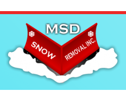 MSD Snow Removal logo