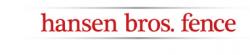 Hansen Bros. Fence and Construction logo