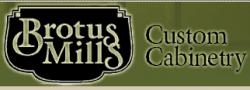 Brotus Mills Custom Cabinetry logo