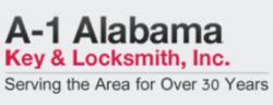 A-1 Alabama Key & Key Locksmith logo