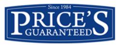 Price's Guaranteed Doors logo