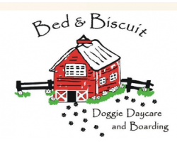 Bed & Biscuit, Inc. Doggie Daycare and Boarding logo