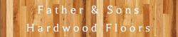 Father & Sons Hardwood Floors logo