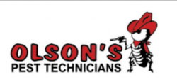 Olson's Pest Technicians logo