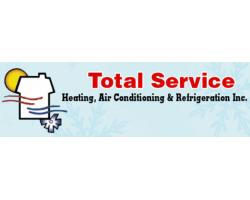 Total Service Heating, Air Conditioning & Refrigeration logo