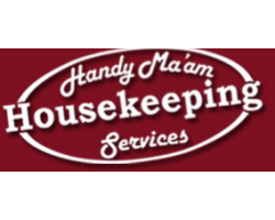 Handy Ma'am House Cleaning Services. logo