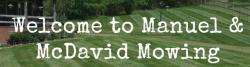 Manuel Mowing & Landscaping logo