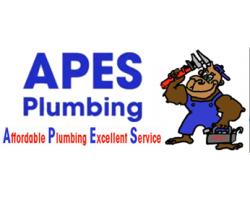 Apes Plumbing logo