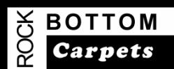 Rock Bottom Carpets logo