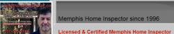 Memphis  Home inspections services logo