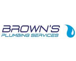 Brown's Plumbing Services logo