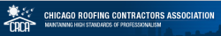 Chicago Roofing Contractors Association logo