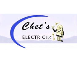 Chet's Electric logo