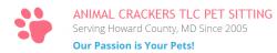 Animal Crackers Tlc Pet Sitting logo