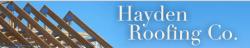 Hayden Roofing Co. logo