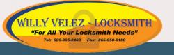 Willy Velez Locksmith logo