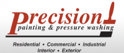 Precision Painting and Pressure Washing logo
