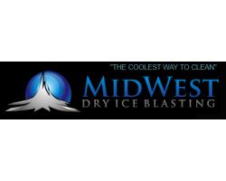 Midwest Dry Ice Blasting logo