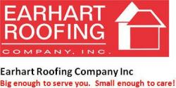 Earhart Roofing Company logo