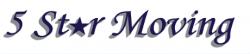 5 Star Moving, Inc. logo