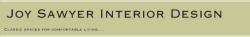 Joy Sawyer Interior Design logo