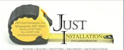 Just Installation logo