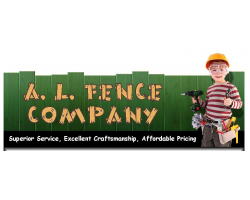 A L Fence Company logo