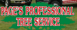 Page's Professional Tree Service logo