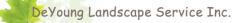 DeYoung Landscape Services logo