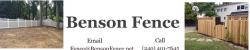 Benson Fence logo