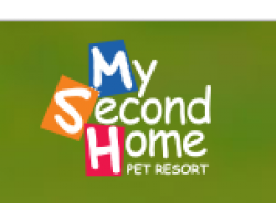 My Second Home Pet Resort logo