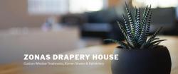 Zona's Drapery House logo