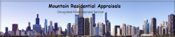 Mountain Residential Appraisal logo