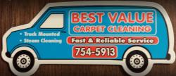Best Value Carpet Cleaning logo