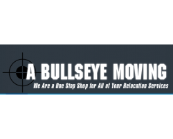 A Bullseye Moving logo
