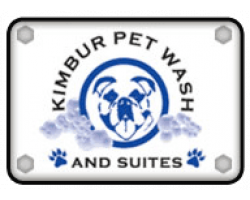 Kimbur Pet Wash & Suites logo