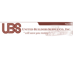 United Builders Supply Co., INC. logo