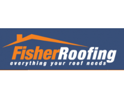 Fisher Roofing's logo