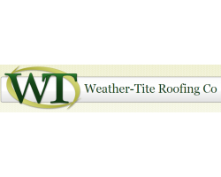 Weather-Tite Roofing Co logo