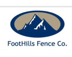 FootHills Fence Co. logo