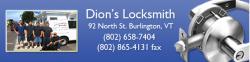 Dion's Locksmith logo